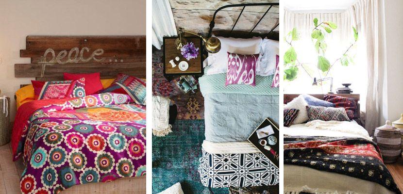 Dormitorios en estilo Boho Chic # Si eres una enamorada del estilo Boho Chic, hoy te daremos unas cuantas ideas para que decores tu dormitorio con él. Lo primero es definir el estilo en sí, que es una mezcla de lo ... »