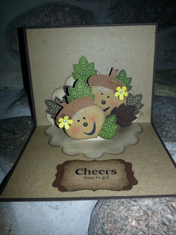 Stampin up ...Days of Gratitude Pop up card