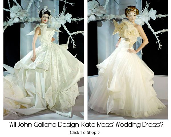 John galliano wedding gowns wedding couture shoot for John galliano wedding dress