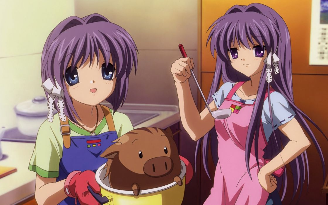9 Of The Best Sets Of Twins In Anime Clannad Anime Clannad Anime