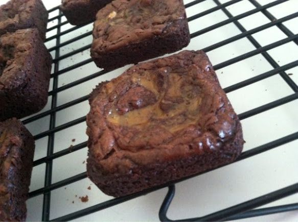 Brownies Baked In Pampered Chef Brownie Pan With Images