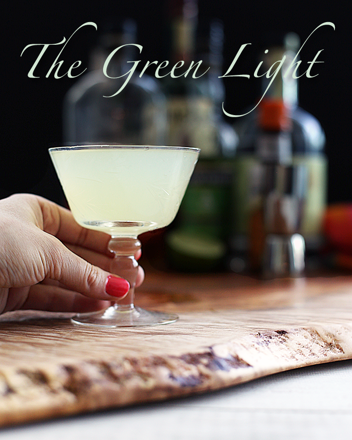 Light Summer Cocktail Recipes: The Green Light Chartreuse & Gin Cocktail