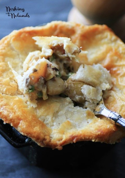 Lobster pot pie by noshing with the nolands noshing with for Fish pot pie