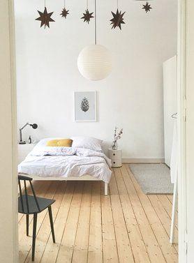 Winterlich #solebich #einrichtung #interior #schlafzimmer #bedroom #altbau  #parkett #