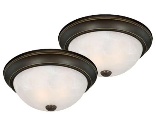 stella 2 pack 2 light 13 oil rubbed bronze ceiling light menards rh pinterest com