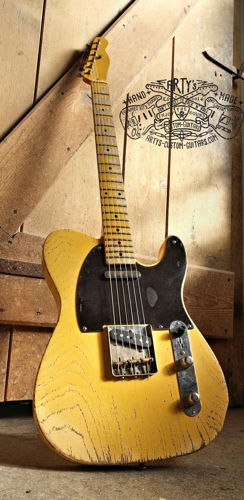 1952 Butterscotch Blonde Blackguard Telecaster  U0026quot Lucille