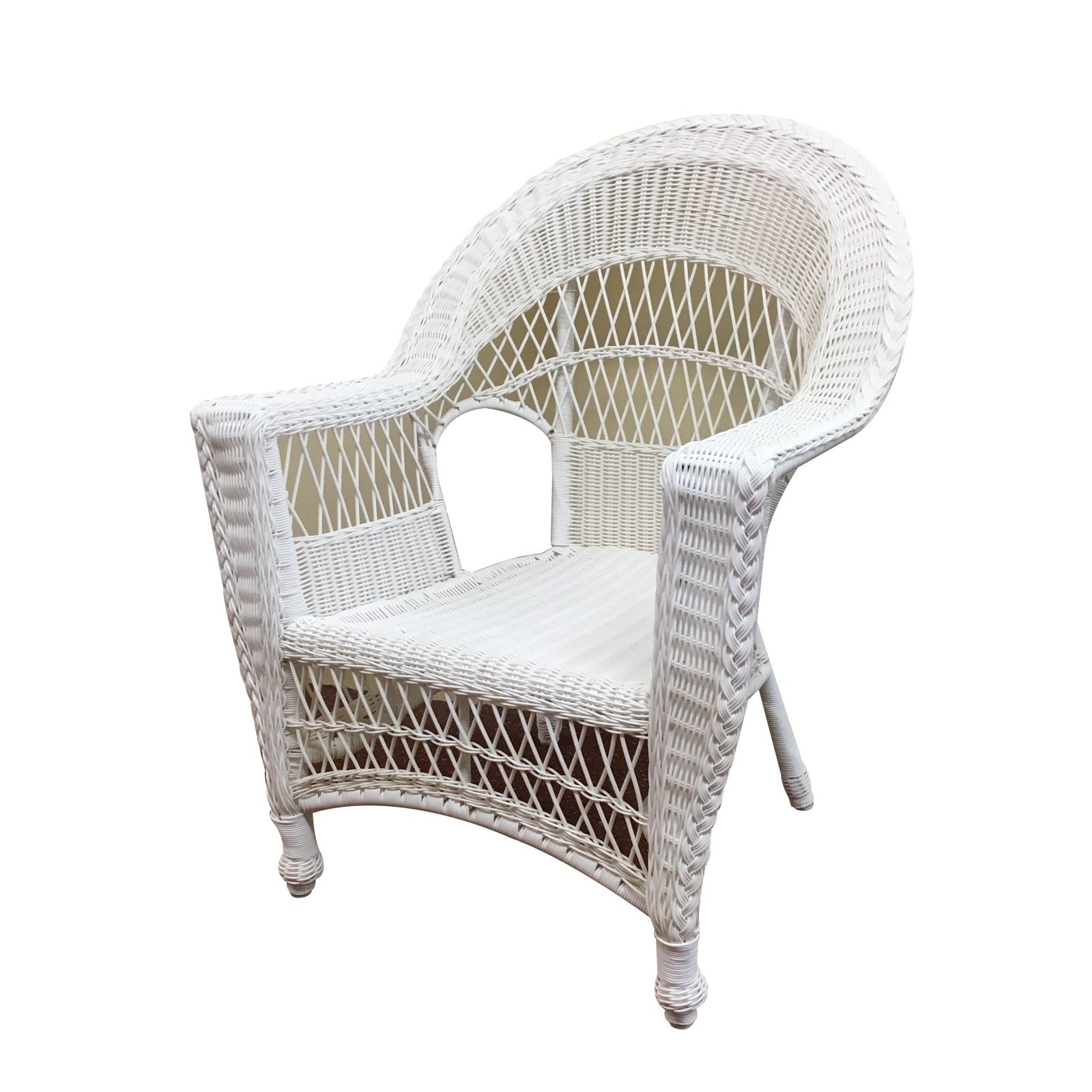 outdoor wicker paradise madison wicker patio dining chair with rh pinterest com