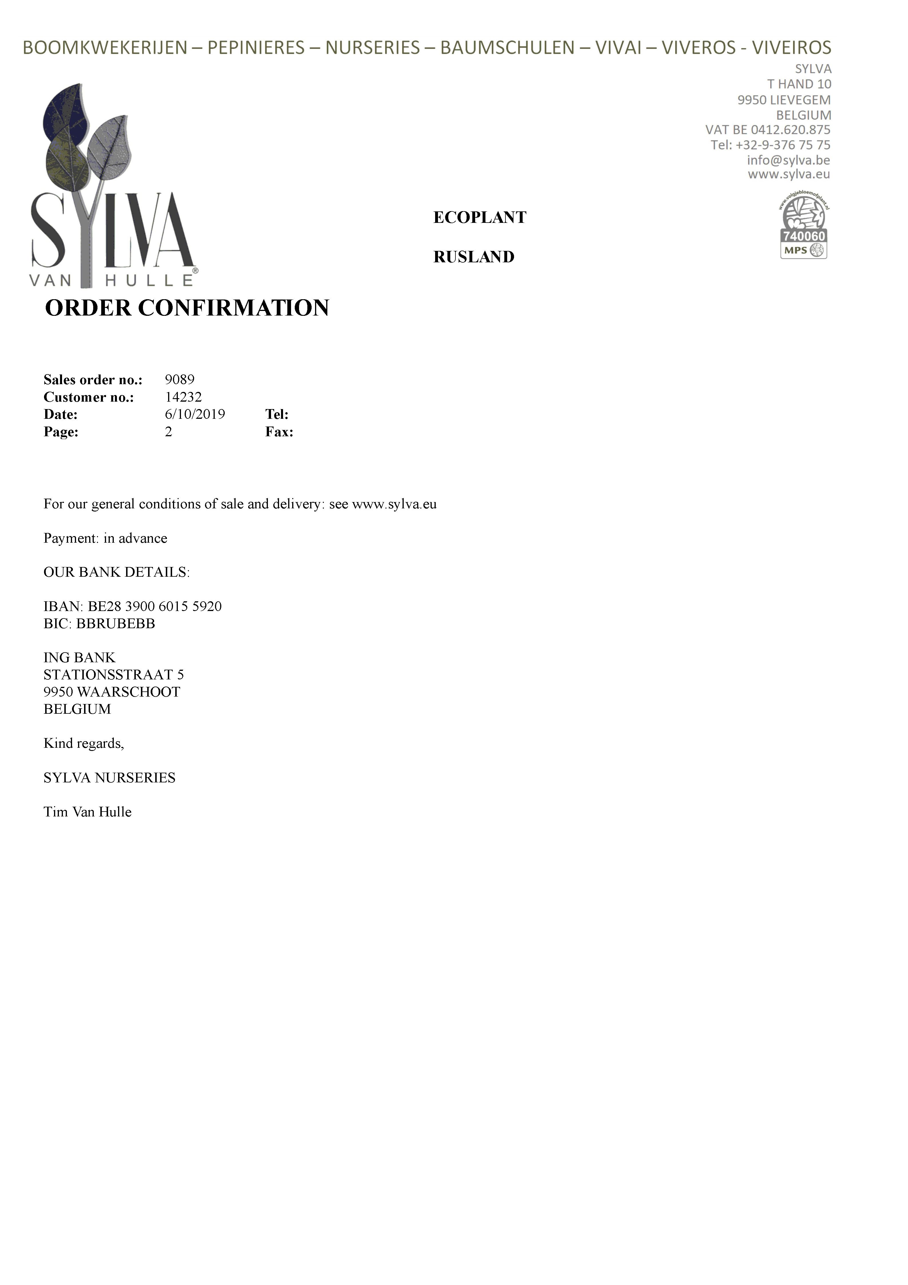 At The Endd Of The Site You Will Learn Sylva Plant Nursery Cheated Us And As The Result We Lost Contracts For 500 000 Euros In 2020 Plant Nursery Sylva Cheating