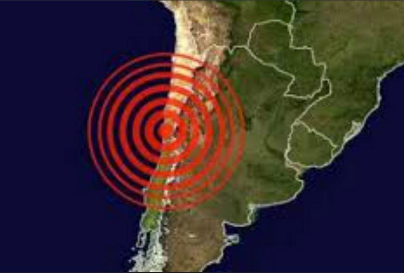 Un importante terremoto azotó a Chile