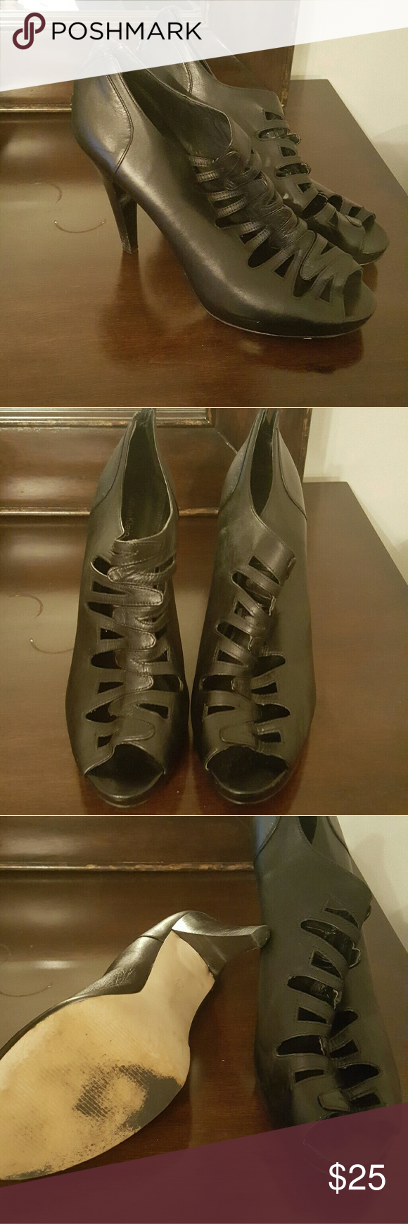 Heels Black Kenneth Cole shoes Shoes Heels