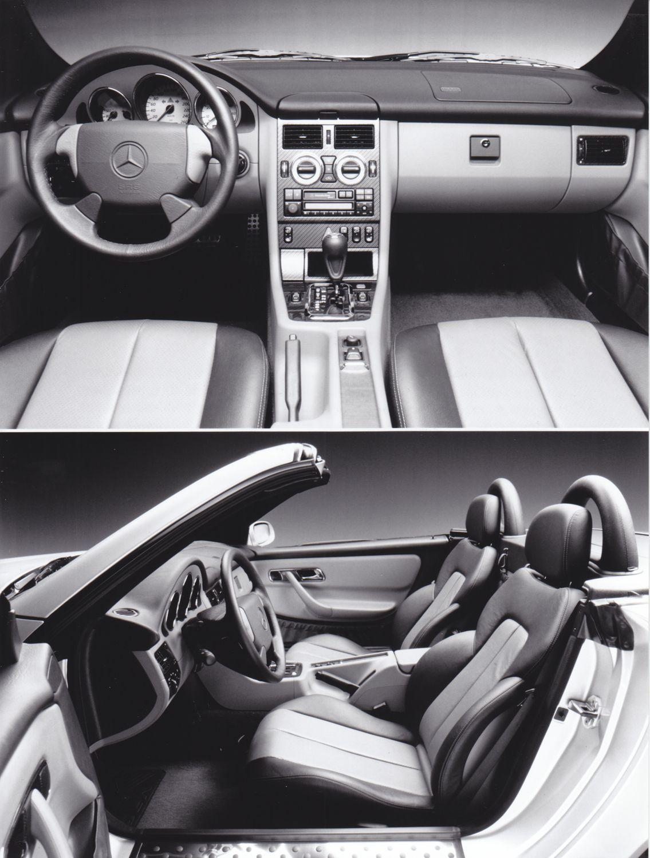 Mercedes Benz Slk Dashboard Interior Foto D 96 S 1984