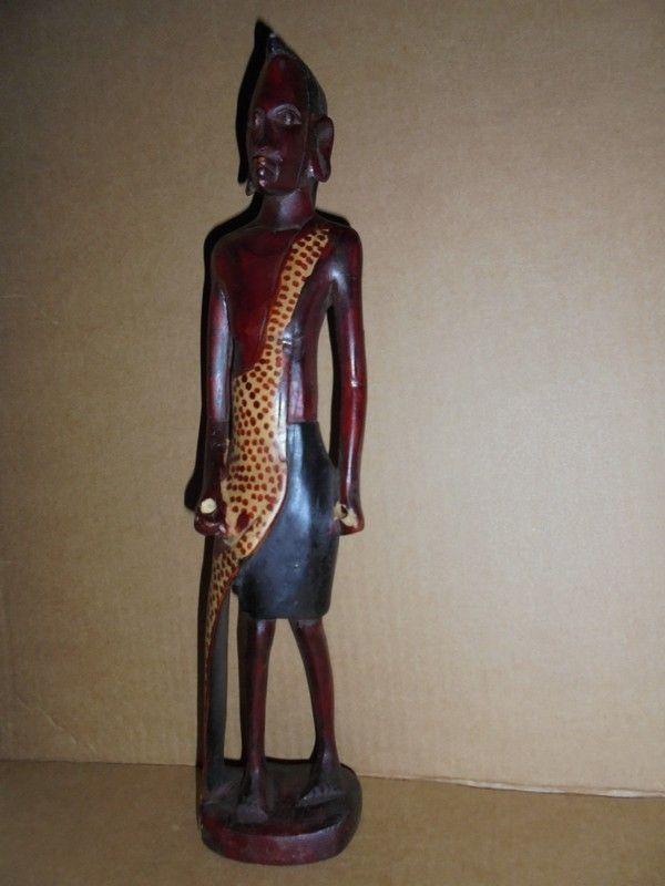 ac3a0cf729a5 Masai warrior Moran sculpture
