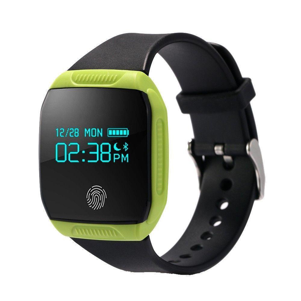 Waterproof Bluetooth Sports Smart Watch + Pedometer