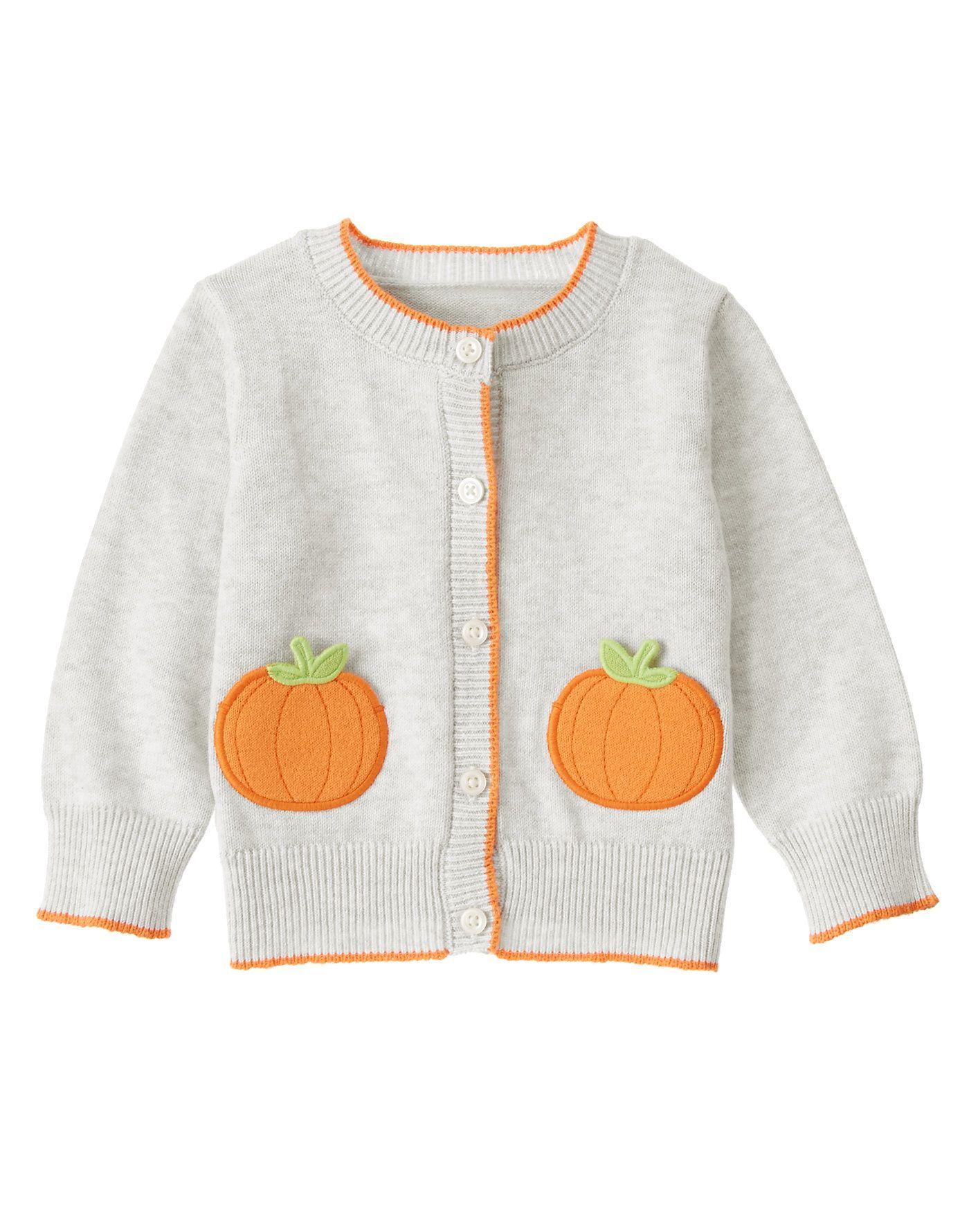 Pumpkin Pocket Cardigan at Gymboree Collection Name