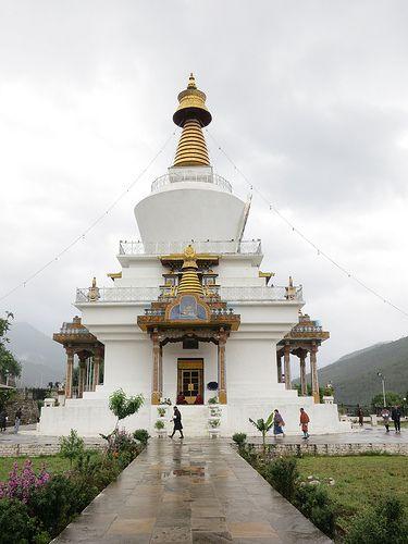 National Memorial Chorten Thimphu In 2020 Bhutan Buddhist