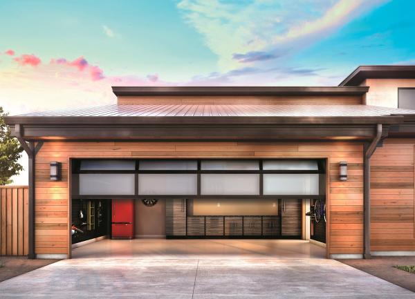 5 Ways To Close Your Garage Door With Alexa Siri Or The Google Assistant Smart Home Design Garage Doors Garage Door Controller