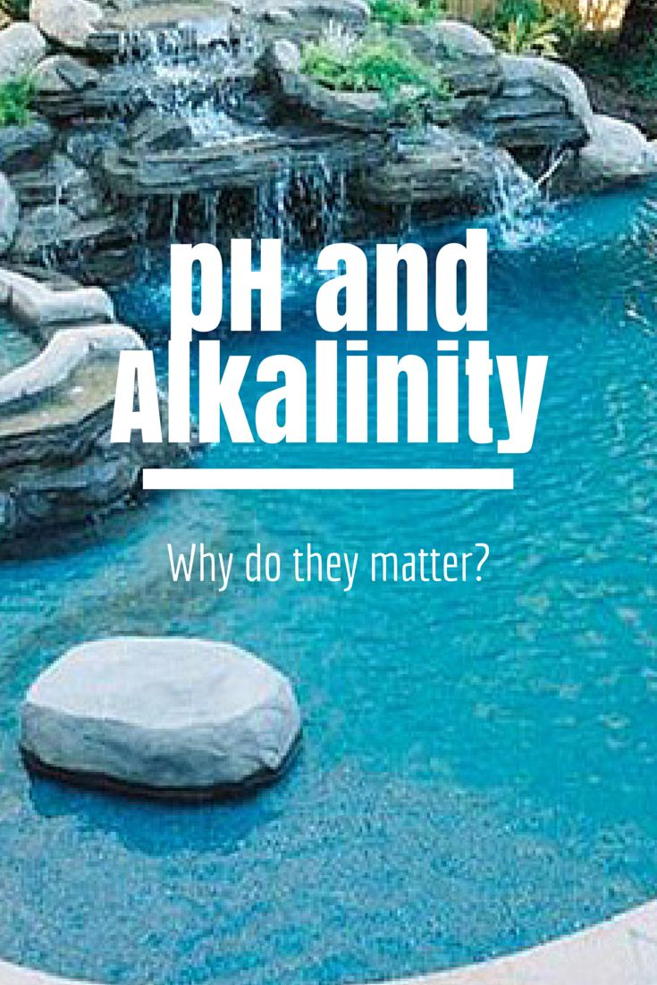 pH, Alkalinity and Why They Matter Swimming, Spa, Letting go