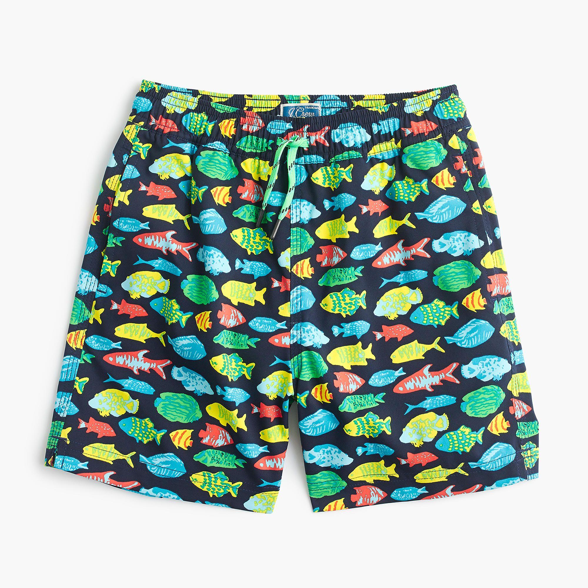 413965b72e swim trunk in tropical fish | crewcuts | Boys Swim | Boys swim ...