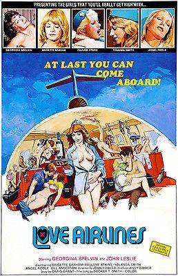 Love Airlines 1978 Movie Poster Movie Posters Vintage