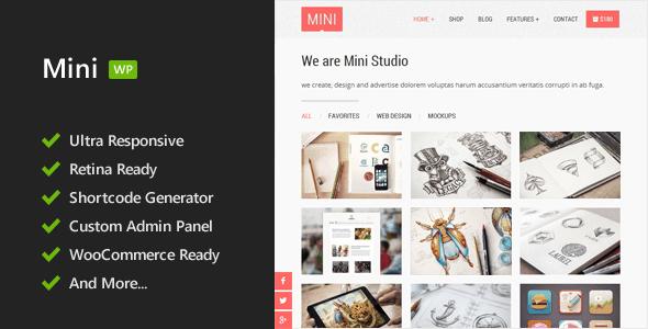 Mini - Responsive WordPress Theme - Miscellaneous WordPress