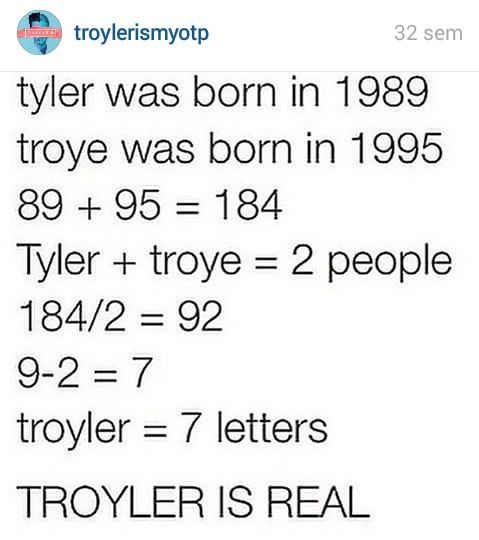 Troyler is my otp