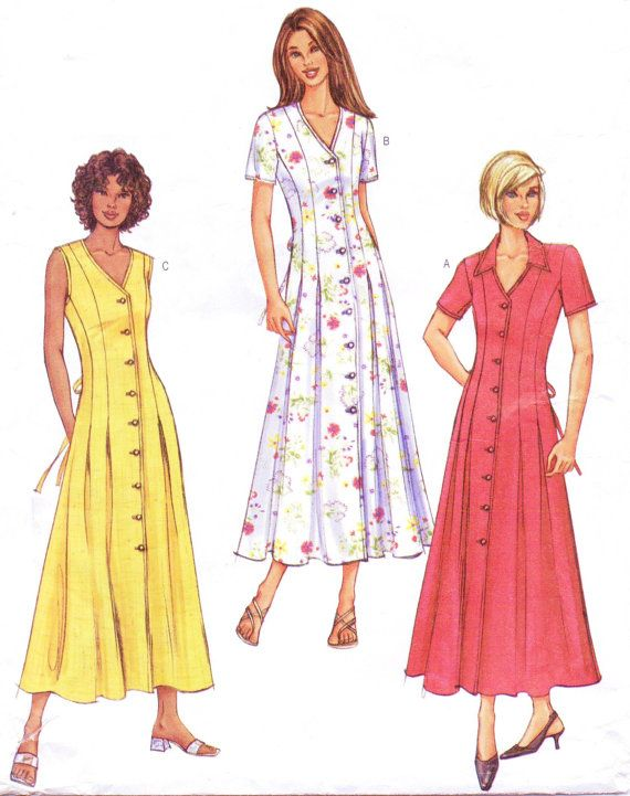 d29dd39fdb13 Butterick Sewing Pattern 3867 Womens Button Front by CloesCloset, $9.00