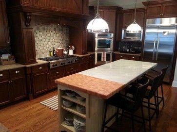 Hard Maple Wood Countertops Spaces Atlanta Craft Art Elegant Surfaces