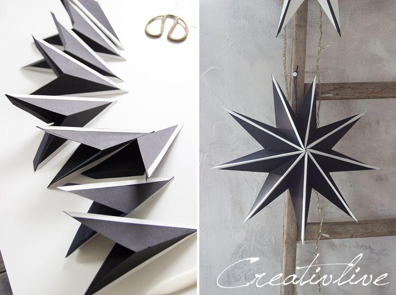 Papiersterne falten Upgrade - CreativLIVE