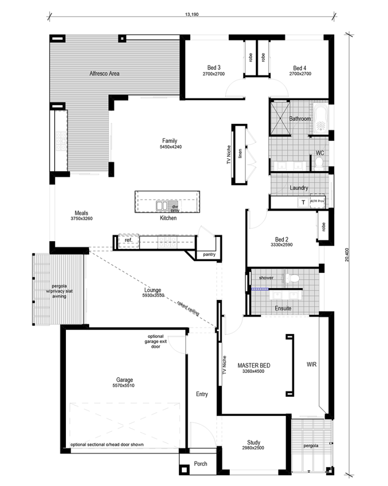 Floor plan friday modern bedroom study home plans pinterest