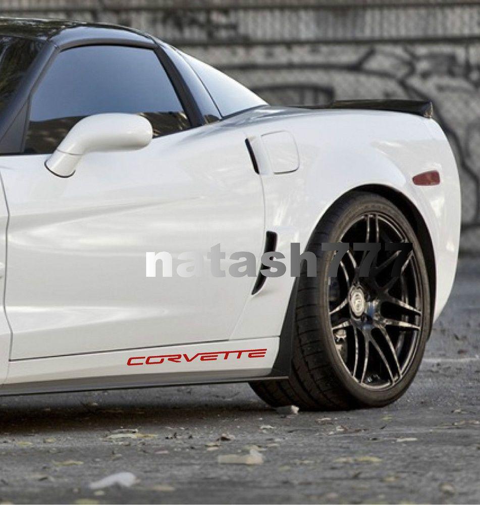 Chevrolet Corvette Zr1 Z06 C6 Grand Sport Racing Decal