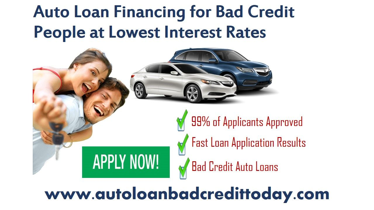 Car Loans For People With Bad Credit >> Autoloanbadcredittoday Offers Online Auto Loans With Minimum
