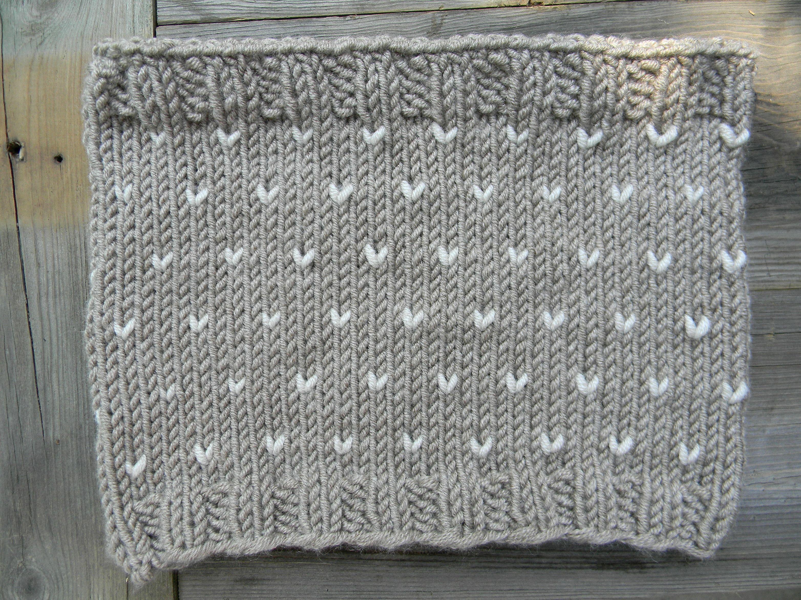Birch Fair Isle Cowl Knitting Pattern - easy bulky yarn #woolspun ...