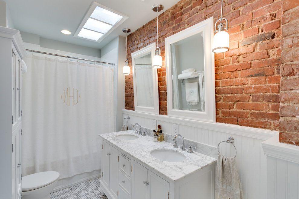 White Bathroom Vanity Bathroom Traditional With White