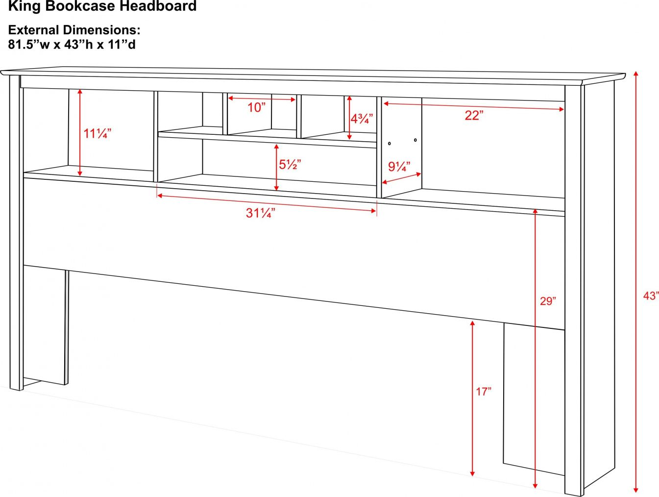 100 King Size Bookcase Headboard Plans Modern Home Furniture