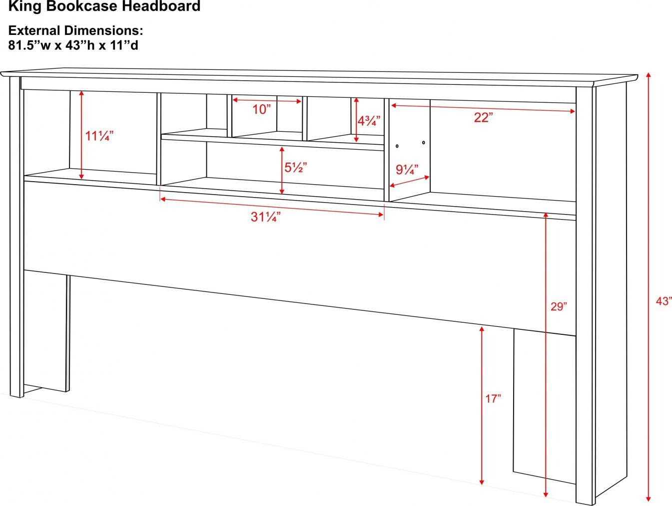 100 King Size Bookcase Headboard Plans Modern Home Furniture