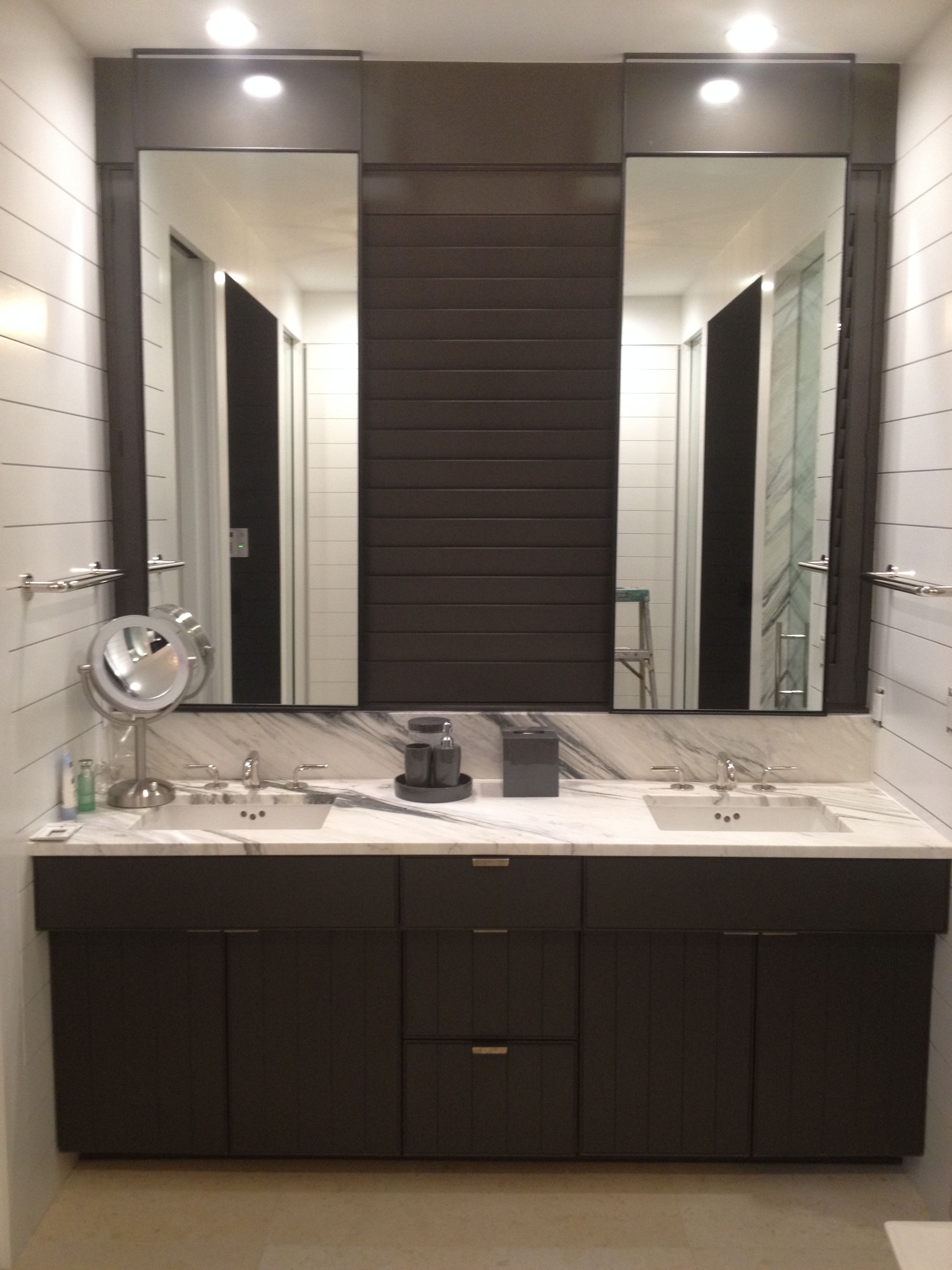 his hers master vanity lighted bathroom mirror custom on custom bathroom vanity mirrors id=65542