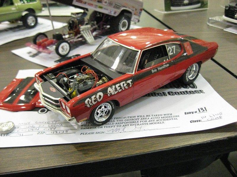 70 Red Alert Chevelle Ss Pro Stock Plastic Models Pinterest
