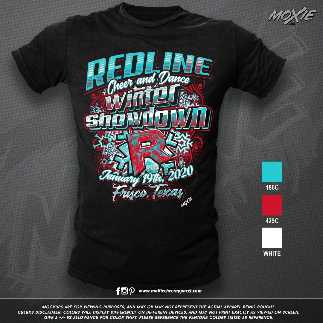 Check out these tees for the Redline Winter Showdown! Get
