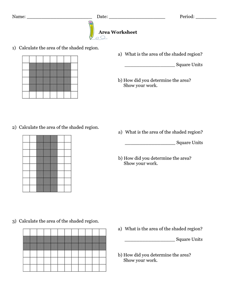 worksheet Area Of Quadrilaterals Worksheet a lesson plan to determine the area of quadrilaterals for middle school math