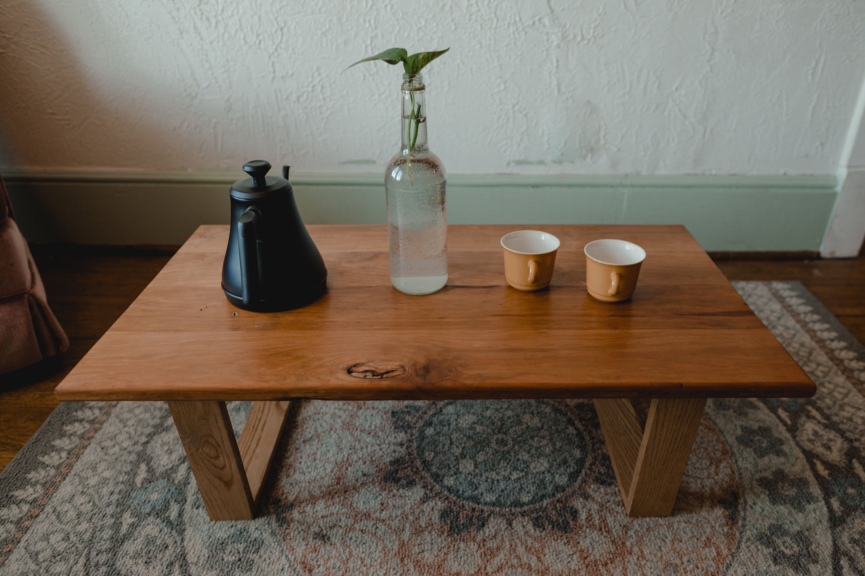 Modern Wood Coffee Table Japanese Low Table The Del Etsy Modern Wood Coffee Table Coffee Table Wood Low Dining Table [ 2000 x 3000 Pixel ]