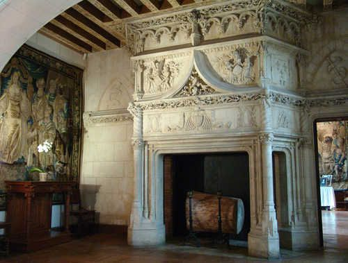 Image detail for -... - Photo of a huge fireplace - Castle of ...