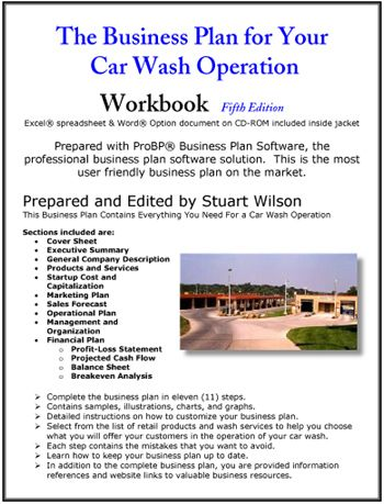 The Business Plan for Your Car Wash Operation Small Business/Self