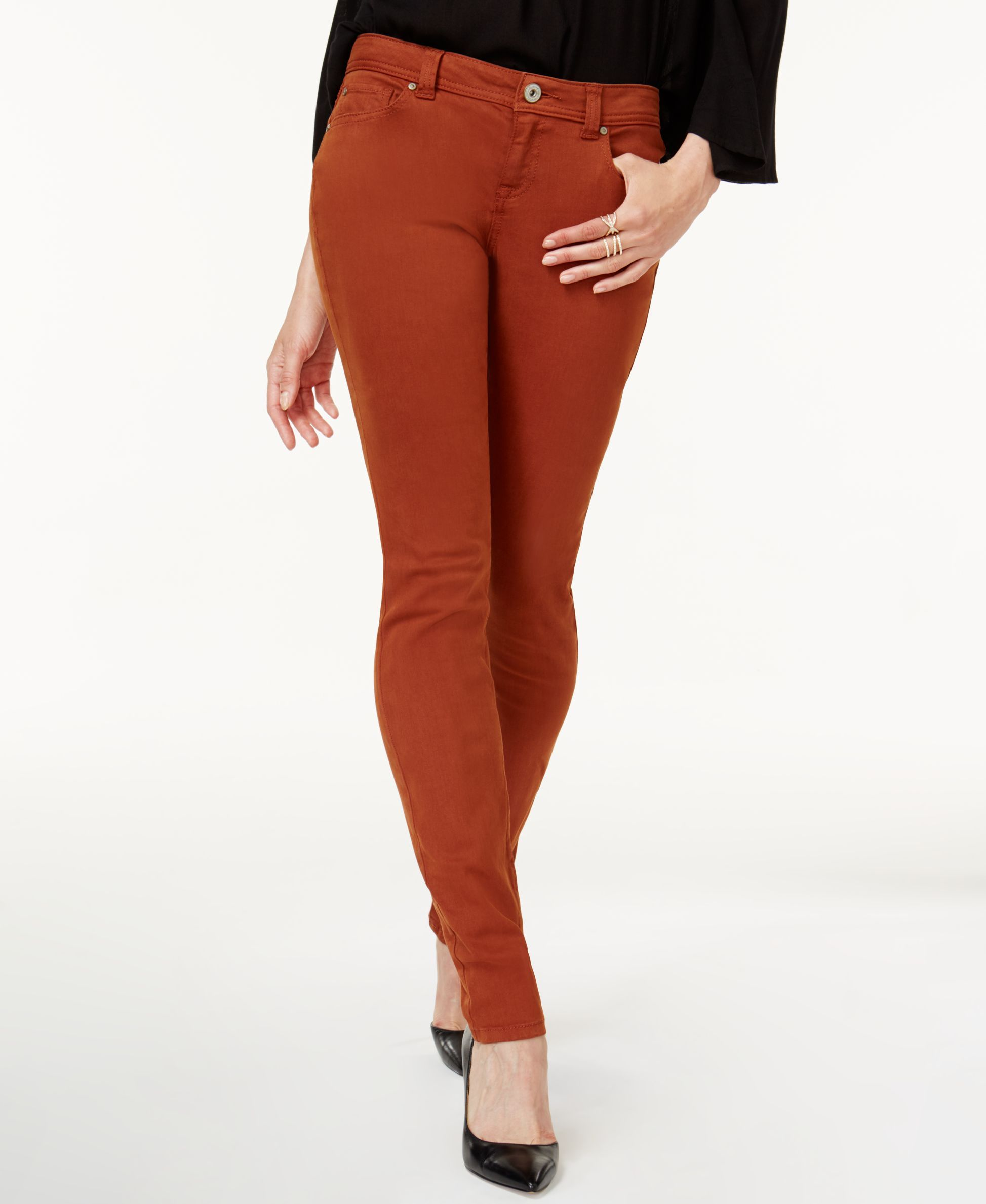a246477ed156 I.N.C. INCEssentials Curvy-Fit Skinny Jeans, Created for Macy's ...