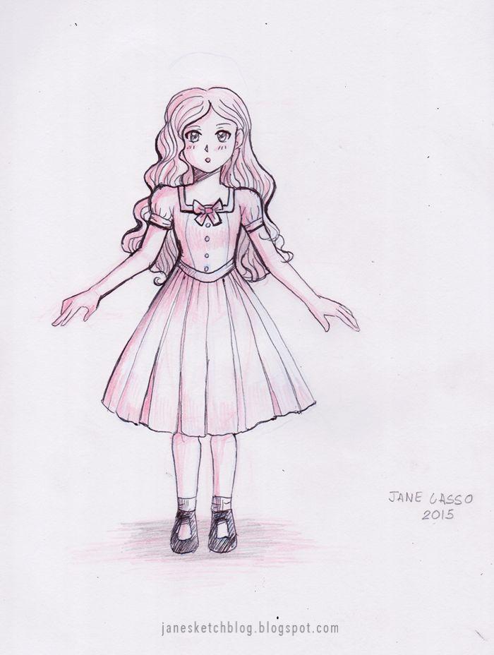 Dibujo Susan Prueba 2 Dibujos Y Sketches De Jane Lasso Anime Facil De Dibujar Dibujo De Chica Manga Dibujos