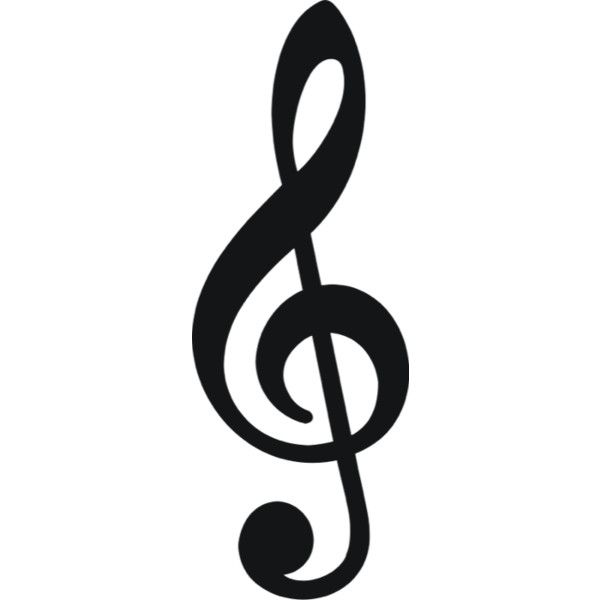 free music note clipart liked on polyvore polyvore pinterest rh pinterest com free music notes clip art borders free music notation clipart
