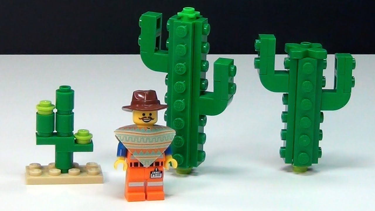 How To Build A Lego Movie Cactus Stop Motion Segment Cooles