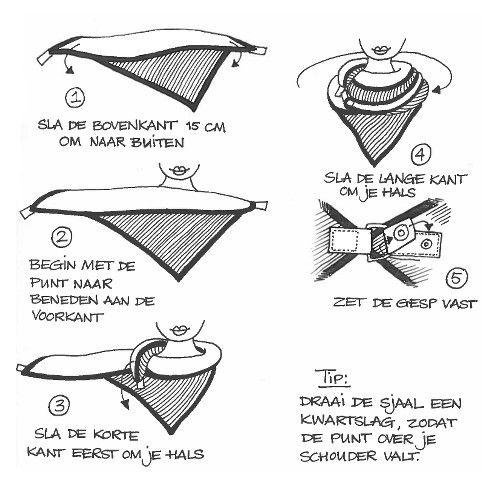 Stolt sjaal zelf maken