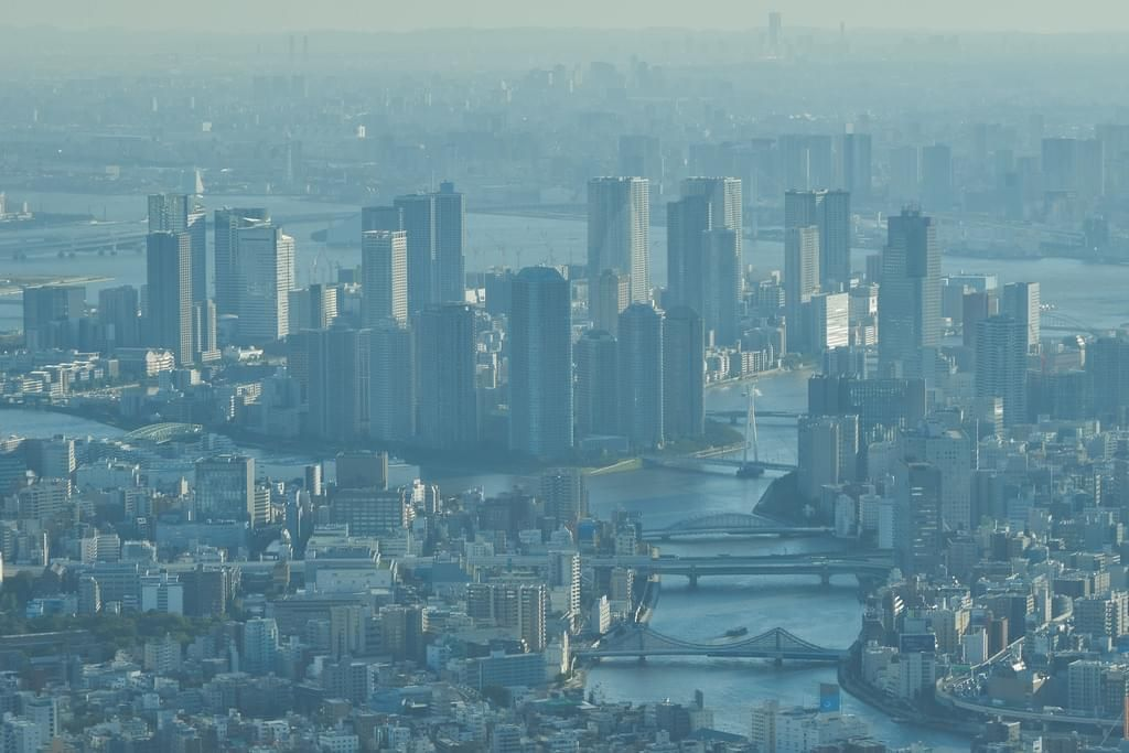 208 Photos Of Tokyo Aerial Cityscape Blue City Asia Travel Travel Photography