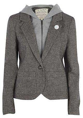 blazer with hoodie - Cerca amb Google