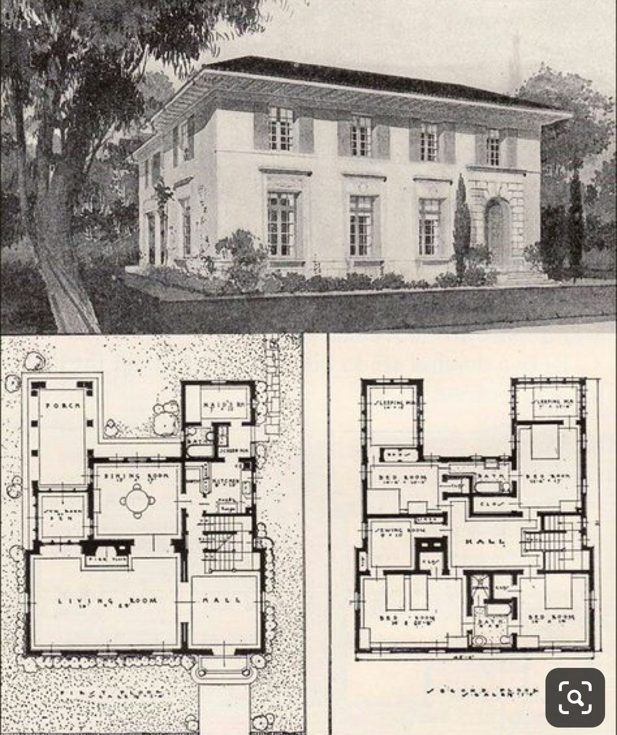 Pin By Shash On Architectural House Plans Vintage House Plans Mediterranean House Plans House Plans
